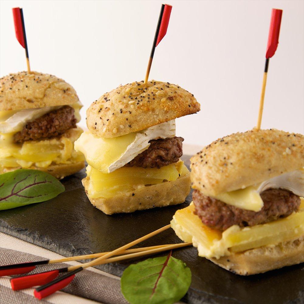 Burger Dauphinois au parfum de Camembert Président