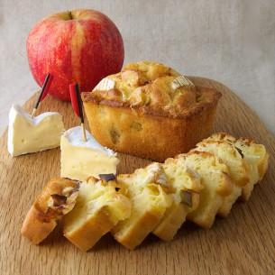 Cake Camembert Président aux pommes