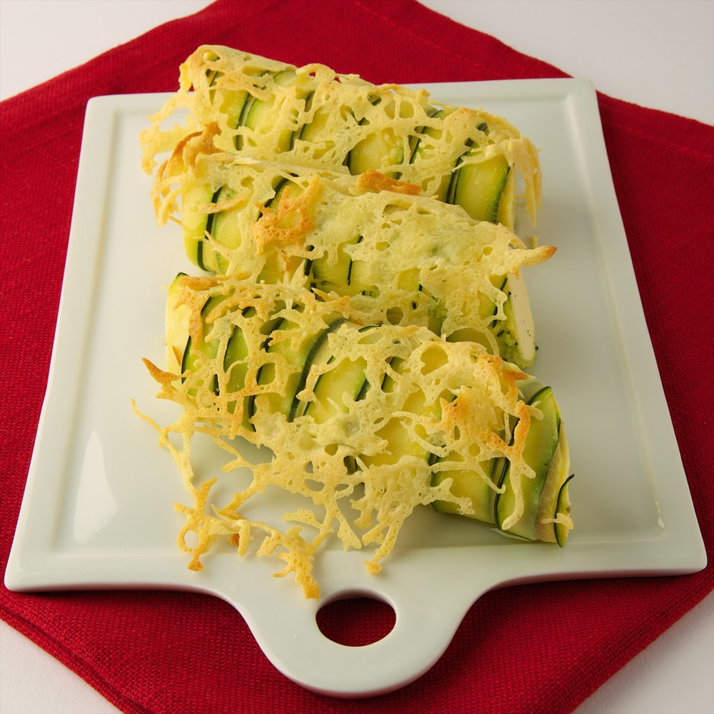 Cannelloni de courgette Emmental Président