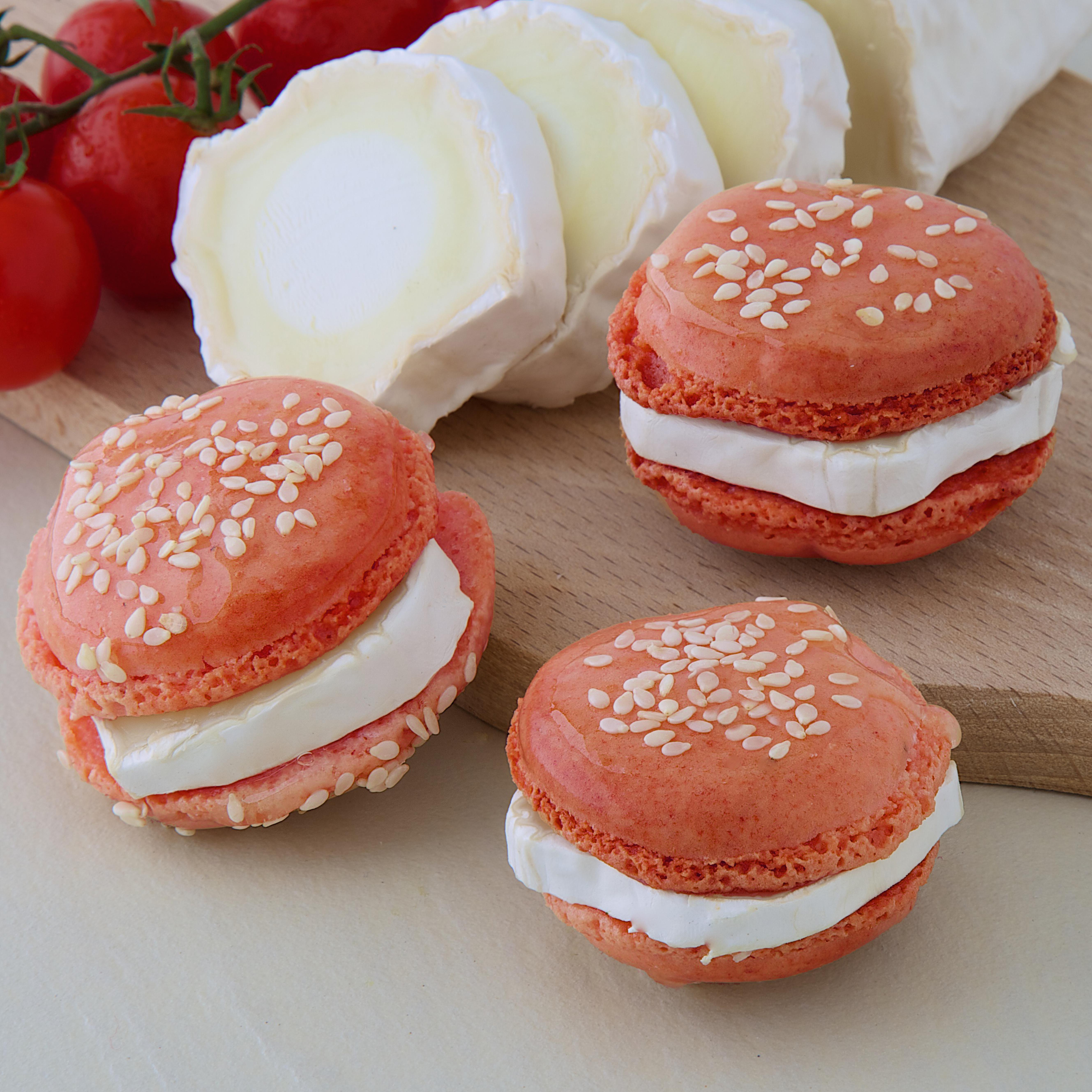 Macarons Chèvre Tomate