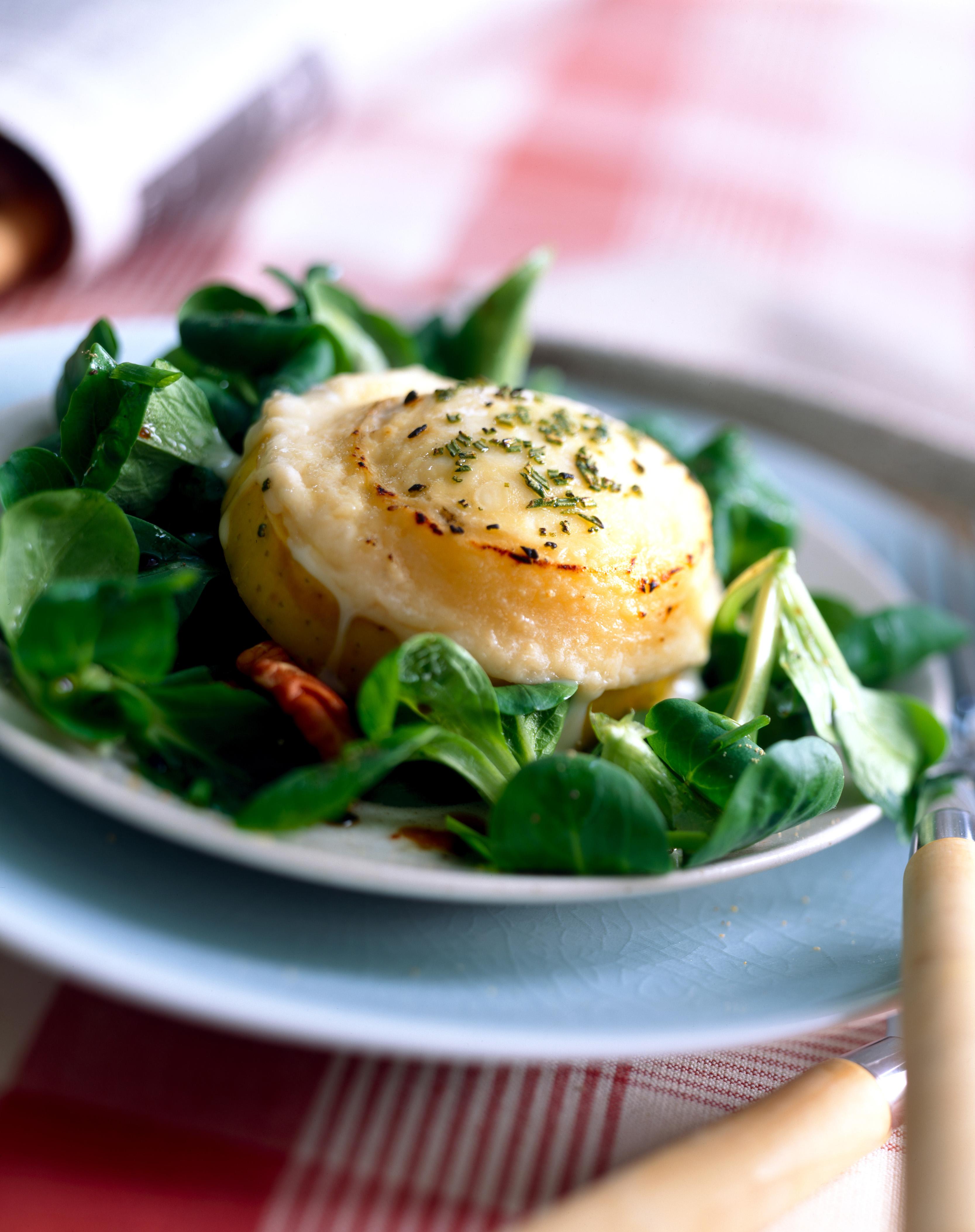 Salade de chèvre chaud facile et rapide
