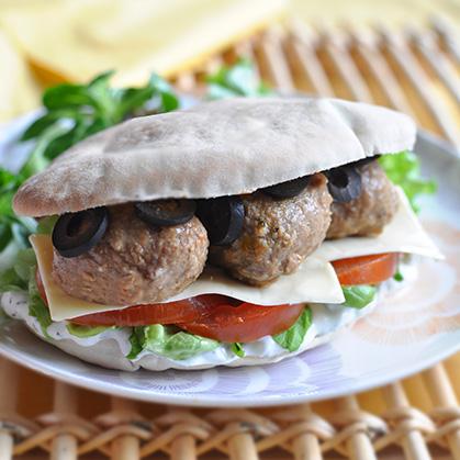 Burger Grec