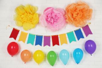 Ambiance / déco pour un anniversaire délirant