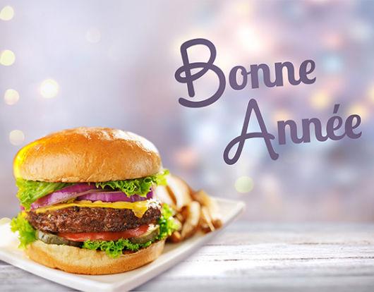 Burger Party et bonne année : le Nouvel an s'annonce délicieux