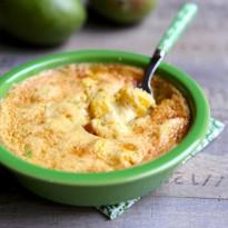 Gratin de mangues au gingembre et citron vert