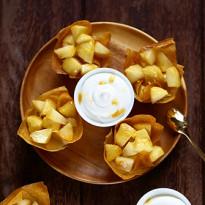 Pommes rôties au beurre d'érable