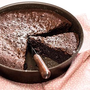 L'inimitable gâteau au chocolat